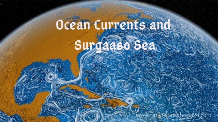 Ocean Currents and Sargasso Sea