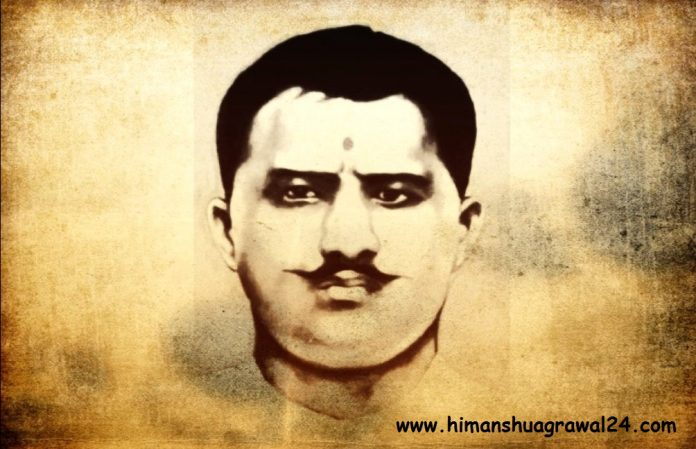 Today Ram Prasad Bismil's 123rd Birth Anniversary, A Revolutionary Leader..!