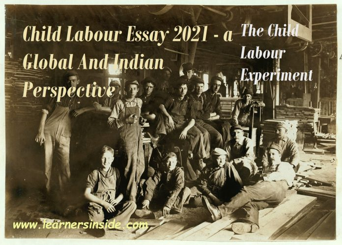 Child Labour Essay 2021 - a Global And Indian Perspective