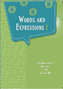 Download Class 9 NCERT Word & Expression English Textbook pdf