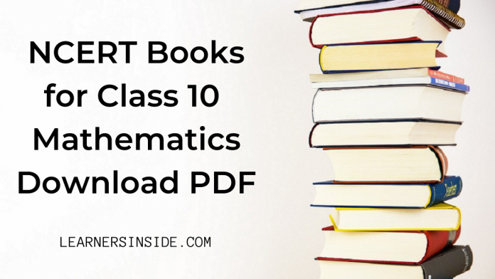 NCERT Book for Class 10 Mathematics Download pdf (Free) - by Learners