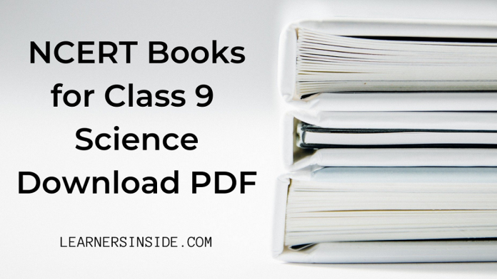 NCERT Book for Class 9 Science Download pdf (Free)