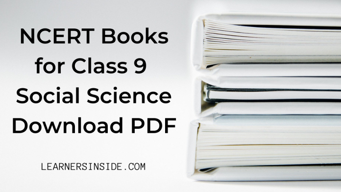 NCERT Book for Class 9 Social Science Download pdf