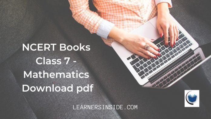 NCERT-Book-for-Class-7-Mathematics-Download-pdf